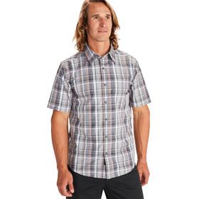 Marmot Lykken Camiseta Manga Corta Hombre, sleet